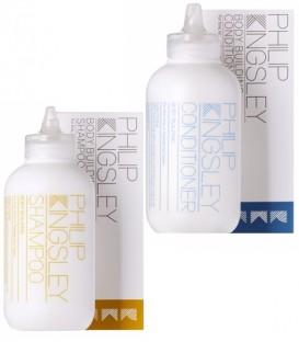 Набор шапунь + кондиционер для объема и блеска тонких волос