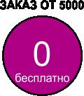 доставка при заказе от 2000 рублей в пределах МКАД